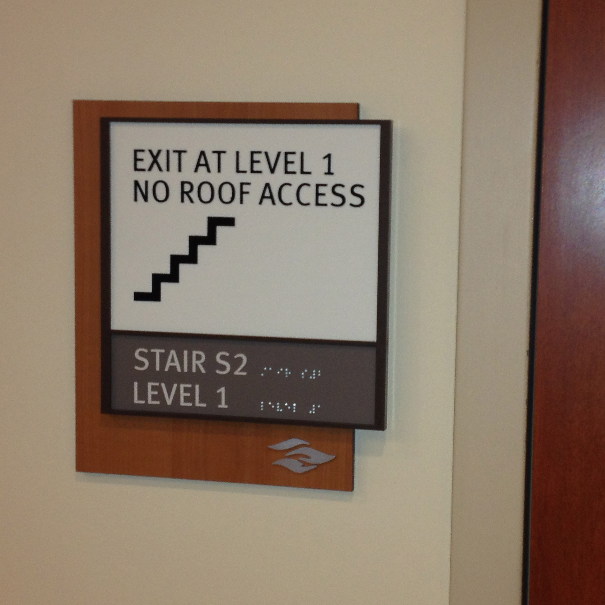 Stairwell Exit
